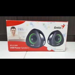 [Used] Genius USB Power Speakers