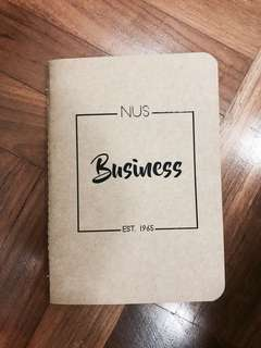Nus Business School Notebook