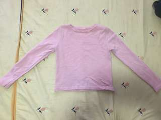 Crop top long sleeve with jumper