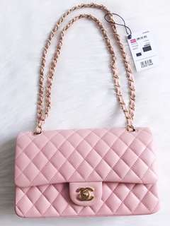 Chanel SS18 Classic Double Flap Bag