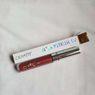 🚚 Colourpop Ultra Metallic Lipstick in Kween