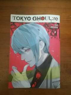 Tokyo Ghoul:Re Volume 4 (English Translated)