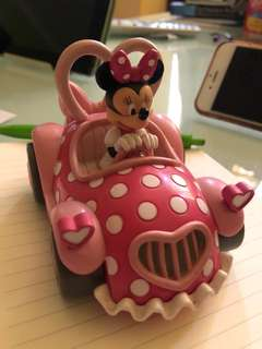 Disneyland Minnie Mouse mini car
