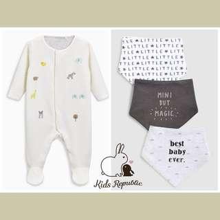 KIDS/ BABY - Sleepsuit/ Bib