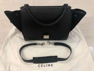 🈹️$7000 Celine Trapeze shoulder bag