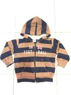 Carters boy jacket/fleece with hood
