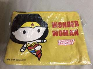 7/11 Chibi Justice League Wonder Woman Pouch