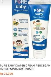 NEW 2pcs Pure Diaper Cream