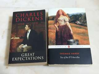 EN3223 Great Expectations & Tess of the D'Ubervilles