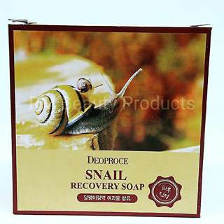 Deoproce Snail Recovery Soap 100g