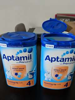 Aptamil Stage 4 - Two tubs, sealed, bought in UK