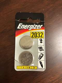 🚚 Energizer CR 2032 lithium 3V battery