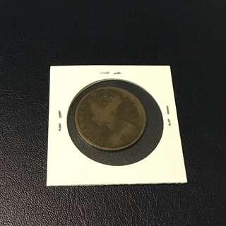 1880年香港一仙 平售$50