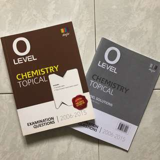 GCE O LEVELS PURE CHEMISTRY TROPICAL WITH MODE SOLUTION 2006-2015
