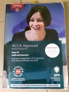 ACCA F8 Audit &  Assurance (BPP Pratice & Revision Kit)