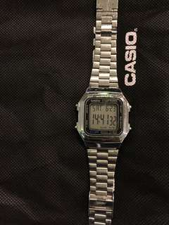 Casio A178w Stainless Steel Ori Not Gshock
