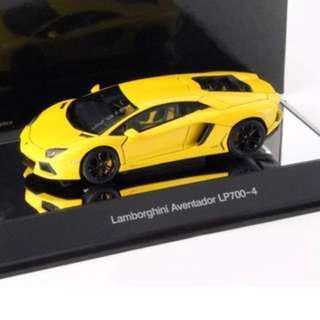 AutoArt Aventador LP-700-4 Yellow 1:43