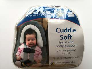 PRELOVED SUNSHINE KIDS Baby Cuddle Soft Head and Body Support - in very good condition with very tiny flaw