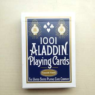 1001 Aladdin Playing Cards, Poker Cards, Cardistry Deck, The United States Playing Card Company, Smooth Finish, Made In USA, BRAND NEW AND UNUSED, UNSEALED