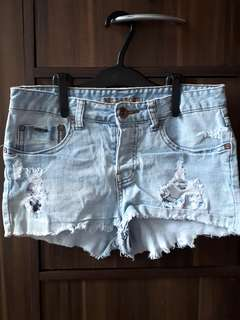 Billabong Ripped Shorts