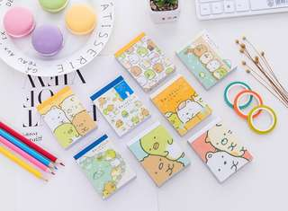 Sumikko Gurashi Mini Post It Note Pad @ $1.90 Only!!!  Ready Stocks! Only last 3 pcs left (see last pic)!!!
