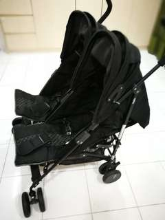 Halford Twin Umbrella Stroller