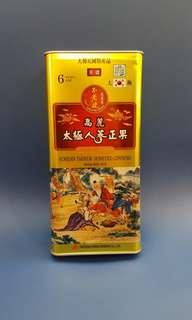 高麗太極人蔘正果 Korean Tae Kuk Honeyed Ginseng