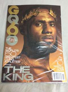 LeBron James - GQ Magazine Special 60th Anniversary Issue