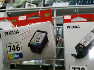 Cannon 746 color printer ink cartridge