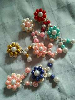 Bros mutiara uk kecil 6pcs