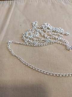 5 meters Silver like chain