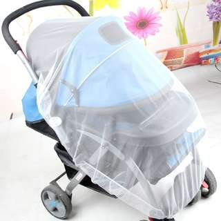 Mosquito Net Stroller Infants Baby Safe Mesh White Bee Cover