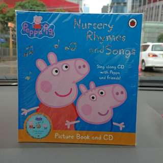 Peppa Pig CD and picture book