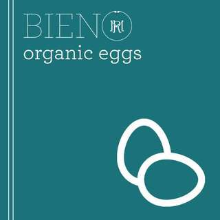 BIENO Organic Eggs - Small (by 6s)