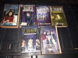 5 V.C. Andrews Books