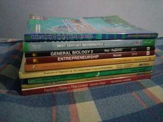 shs books senior high school books grade 11 & grade 12 k-12 books