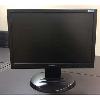 Hanns.G 17吋寬液晶顯示器 HW173A *3 (含電源線+VGA線)