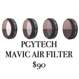 PGYTECH MAVIC AIR FILTER 4in1(ND4/ND8/ND16/ND32)