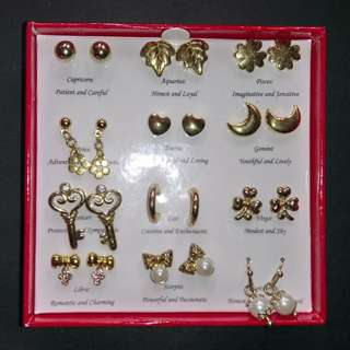24-pieces earring set