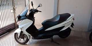 MOTOR SUZUKI BURGMAN 200 thn '14