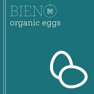 BIENO Organic Eggs - Medium (per piece)