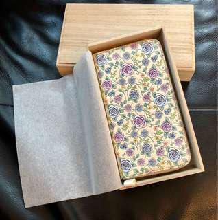 長銀包(花圖案)Long purse (Flower pattern)