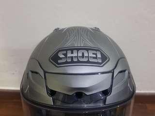 Shoei Helmet silver