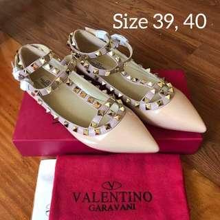Valentino Garavani Rockstud Ballerinas Flats