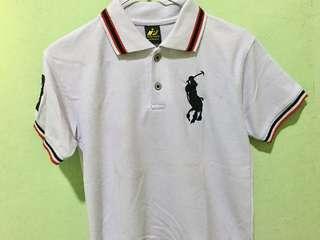 Kaos Polo Putih