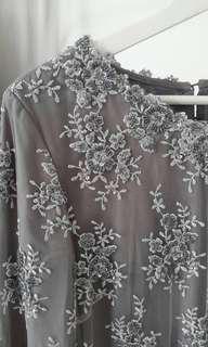 Baju Kurung Full Manik