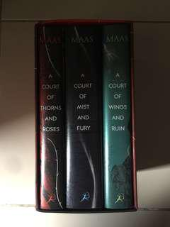 A Court of Thorns and Roses Trilogy (Hardbound) (w/ freebie)