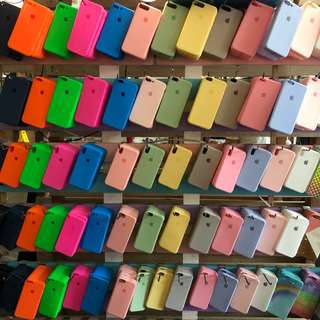 Apple silicone cases
