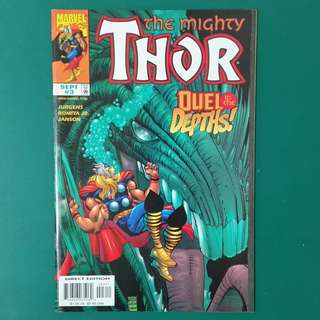 The Mighty Thor No.3 comic