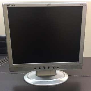奇美 polyview S17E 17吋寬液晶顯示器*8 (含電源線+VGA線)
